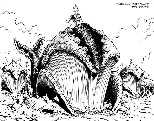 Whale Rider Kings by Matthew Bernier