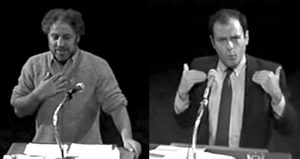 Abbie Hoffman / Jerry Rubin debateAbbie Hoffman / Jerry Rubin debate