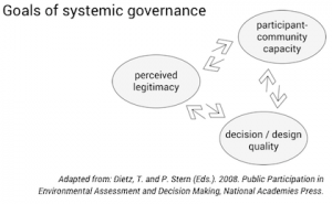 Goals of systemic governance