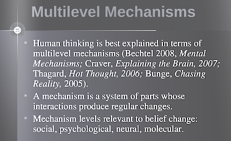 Paul Thagard - muiltilevel mechanisms