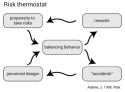 John Adams: Risk thermostat