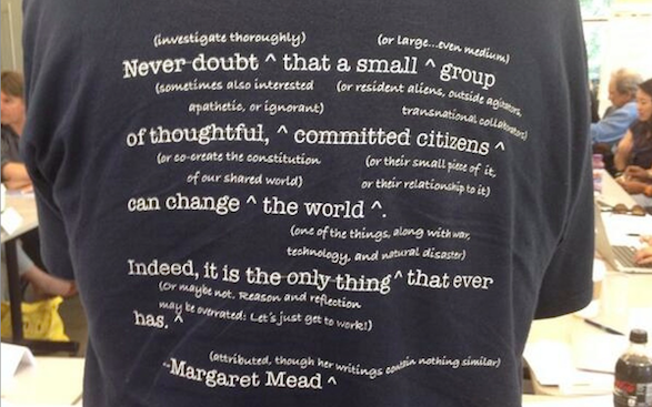 Dave Witzel's photo of Mead t-shirt
